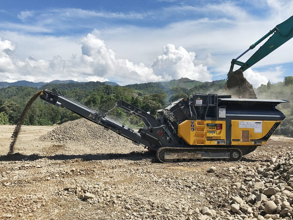 Forklift Philippines: RM 70GO! 2.0 Crushes Hard River Basalt