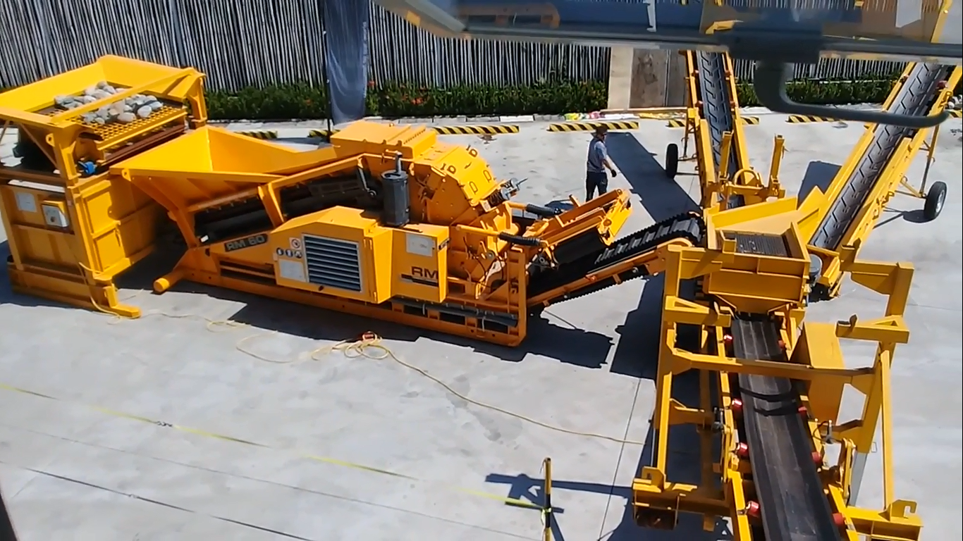 RM Crusher is Economical and Environmentally-Friendly