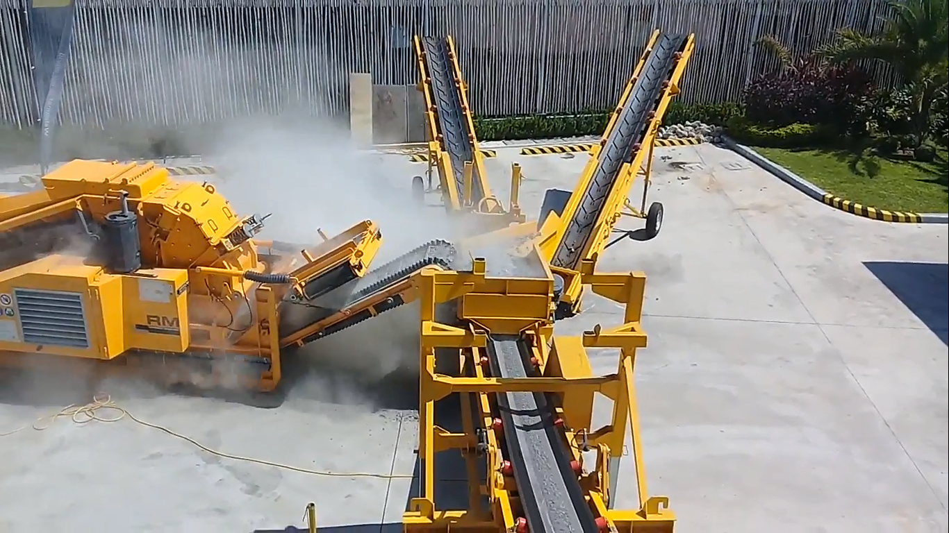 RM Crusher Makes Work Easier because It is Extremely Powerful