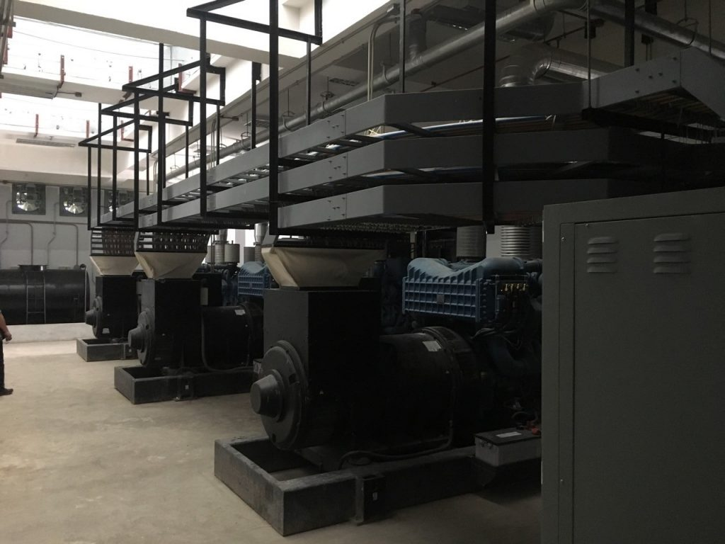 3 x 2500kVA MTU-powered Generator sets (Synchronized) 2nd photo