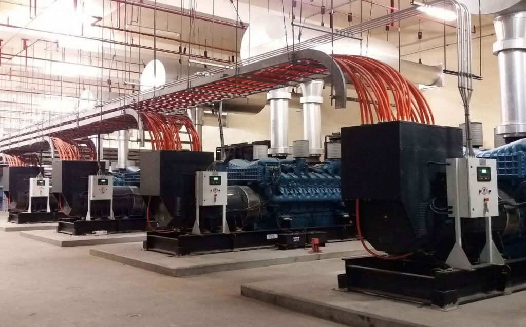 8 x 2813kVA MTU-powered Generator sets (Synchronized) 2nd photo