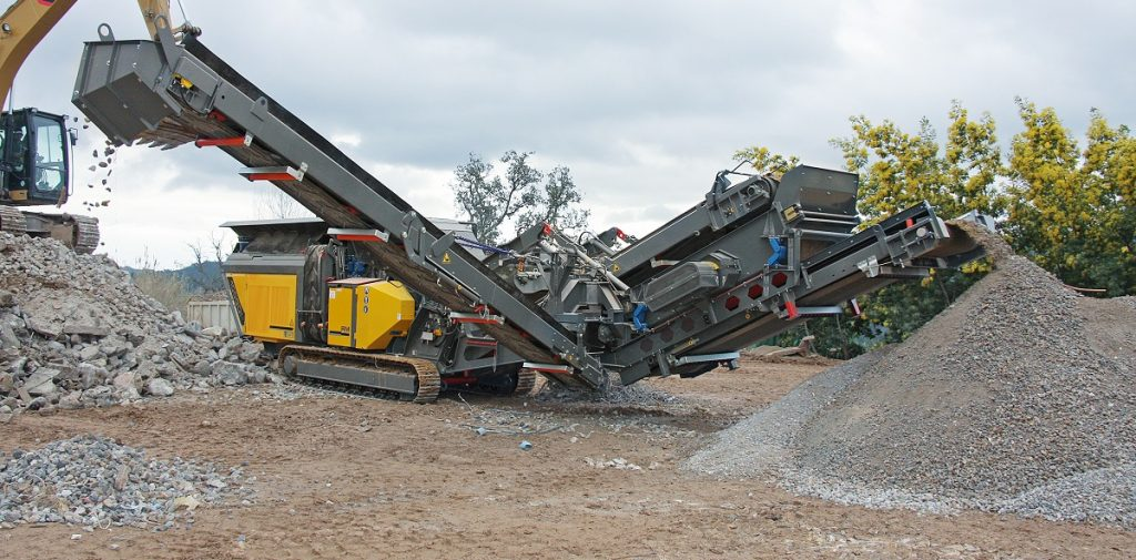 RM Crusher Re-purposing Rubble as Recycled Demolition Waste