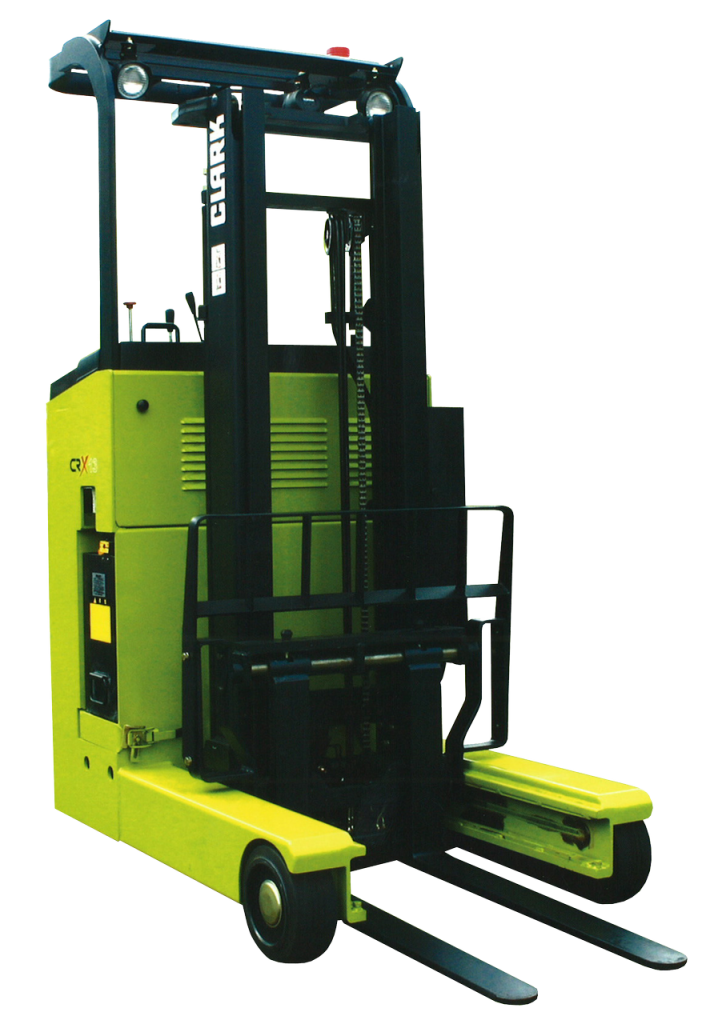 Warehouse Improvement with Clark Electric Reach Trucks