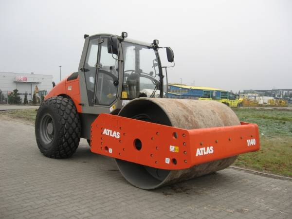 Road Work and the Atlas Weycor Road Roller