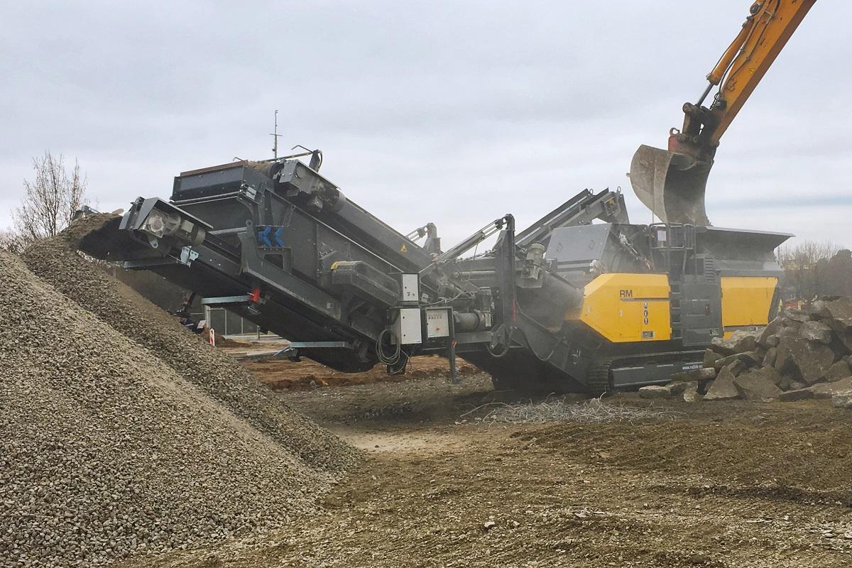 RM 120GO! + RM MS125GO! + RM RFB7550GO! reinforced concrete Germany