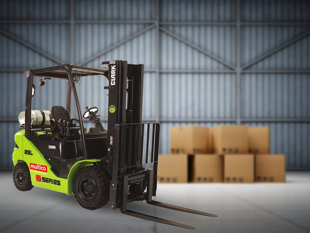 A Look into the New Clark Forklift S-Series Released This Year