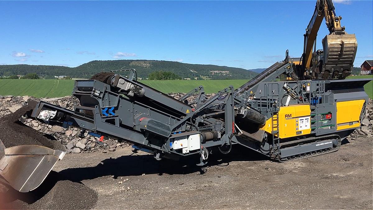 Main Discharge Conveyor Belt