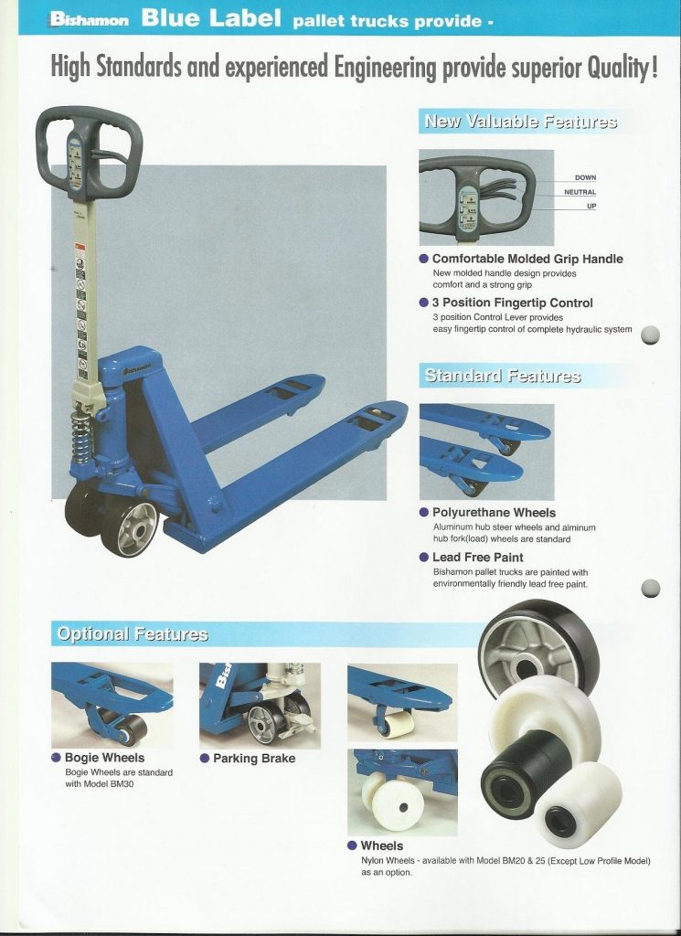 Inspect The Pallet Truck Daily