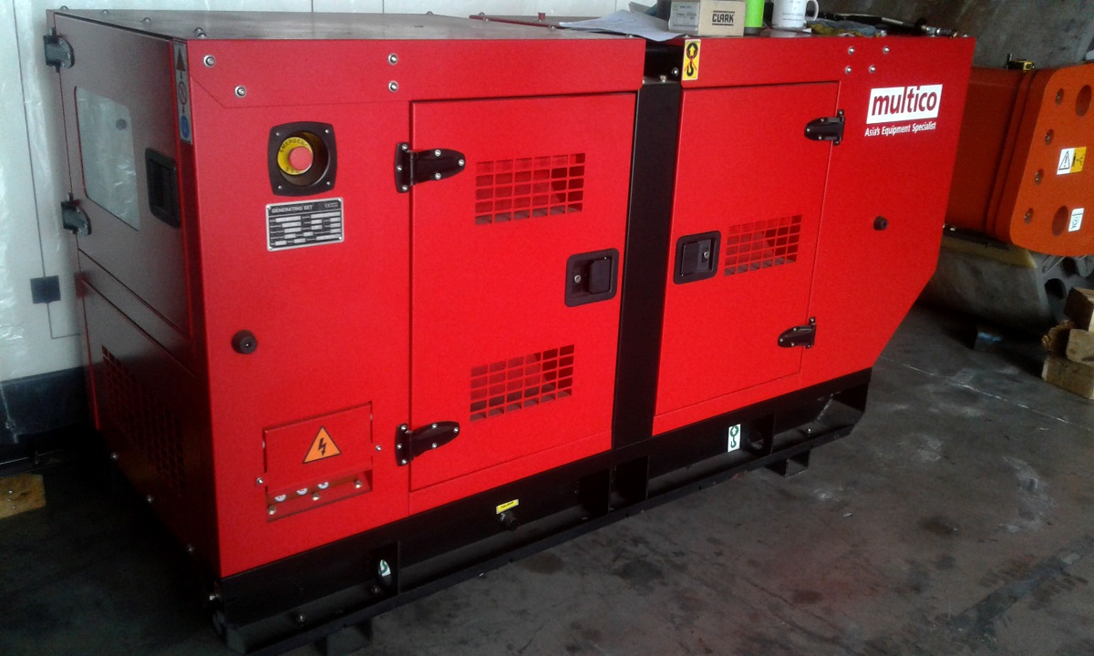 Clogged Genset Parts